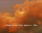 Still from Chapel Film Project (shows polluted sunset)